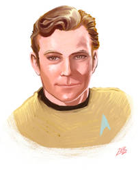 Captain Kirk by ZoeyHuerta