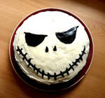 Skull Cake by Ideas-in-the-sky