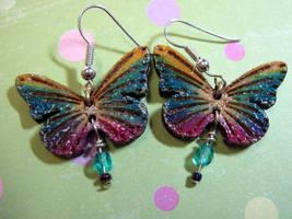 Butterfly Earrings by Ideas-in-the-sky