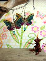 Flyaway Butterfly Earrings 2 by Ideas-in-the-sky