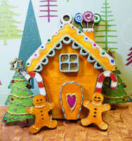 Gingerbread Cottage by Ideas-in-the-sky