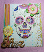 Day of the dead card by Ideas-in-the-sky