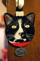 Pet portrait Bauble 2 by Ideas-in-the-sky