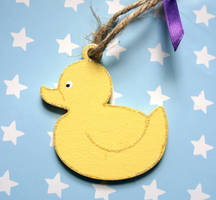 Funky Duck Tag by Ideas-in-the-sky