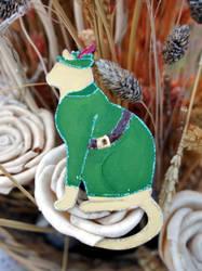 Feline Robin Hood by Ideas-in-the-sky