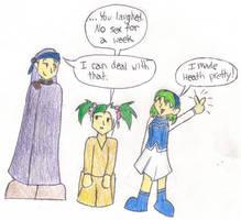 FE7: Nino made Heath Pretty by sarahakacelebi