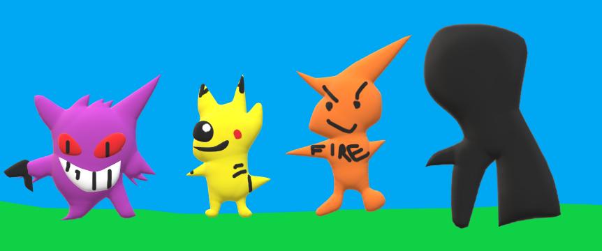Pokemon Anti Vore Team by Endoskeleton64