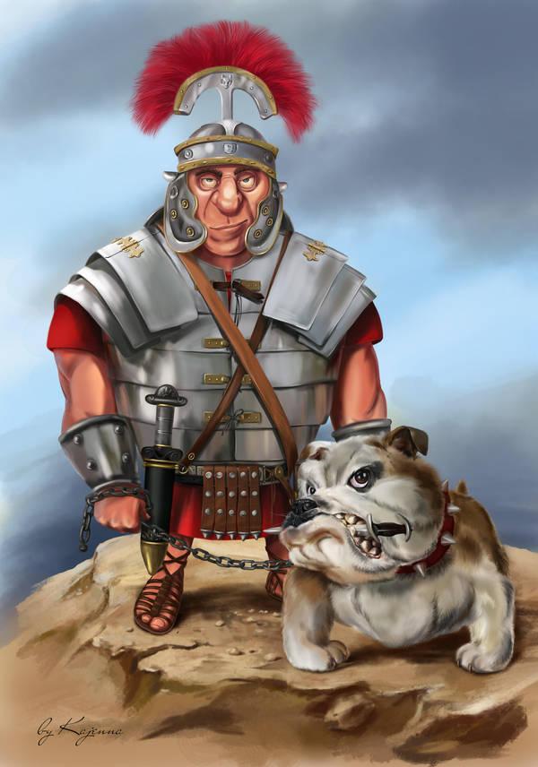 The Legionnaire / Caricature by Kajenna