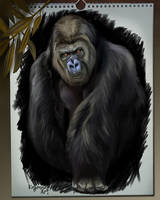 Gorilla by Kajenna