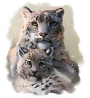 Leopards by Kajenna