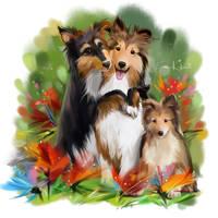 My family by Kajenna