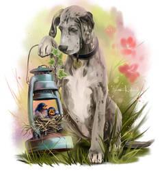 Baxter's pets by Kajenna