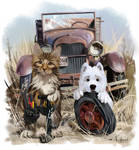 My favorite car mechanics by Kajenna