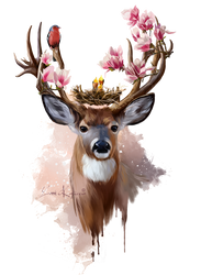 The wild spring by Kajenna