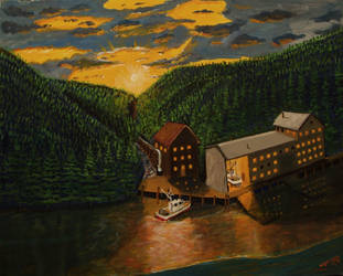 A Cannery in Alaska by vic-gomery