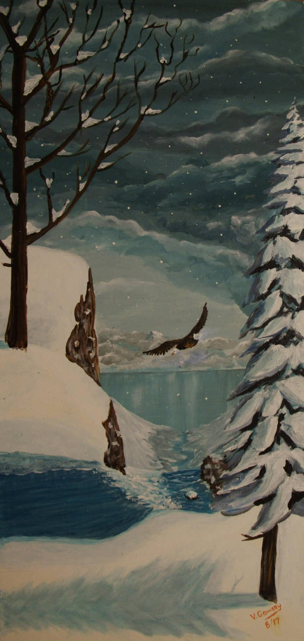Winter by vic-gomery