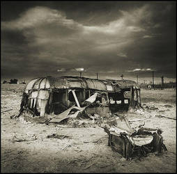 Bombay Beach Trailer by perry