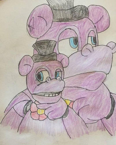Mr.Hippos Thoughts (FNaF UCN) by DaleeSpringdraw