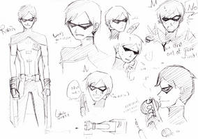 Young Justice- Robin 1st trial by char0118