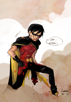 Young Justice - Robin got hurt by char0118