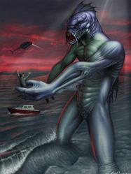 DAU: Ancient God of Sea by dark-artists-united