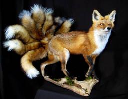 Nine-Tailed Fox (Kyuubi no Kitsune) by rcahern