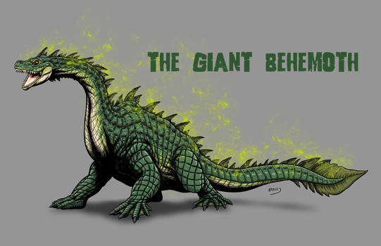 Kaiju Revamp - The Giant Behemoth by Bracey100