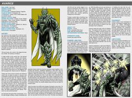 Southern Comics Handbook: Avarice by Bracey100