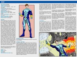 Hero Commissions - NOX handbook page by Bracey100