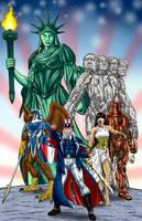 Symbols of Liberty by Bracey100
