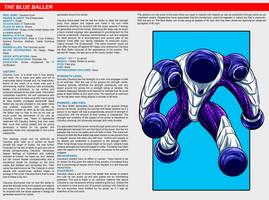 Southern Comics Handbook: The Blue Baller by Bracey100
