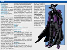 Southern Comics Handbook: Noir by Bracey100