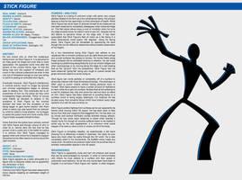 Southern Comics Handbook: Stick Figure by Bracey100