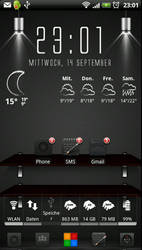 My HTC Sensation Screen by Rimmingboy