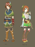 Character Design Color Scheme by vickie-believe