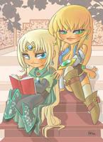 Abel et Elina by Flfleur