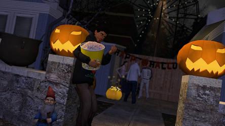 Gmod:Halloween Party by Minimole
