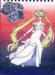 Princess Serenity by OldSophie