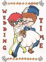 My Wedding Invitation by OldSophie