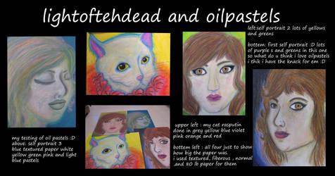 oil pastels :D by LightOfTehDead
