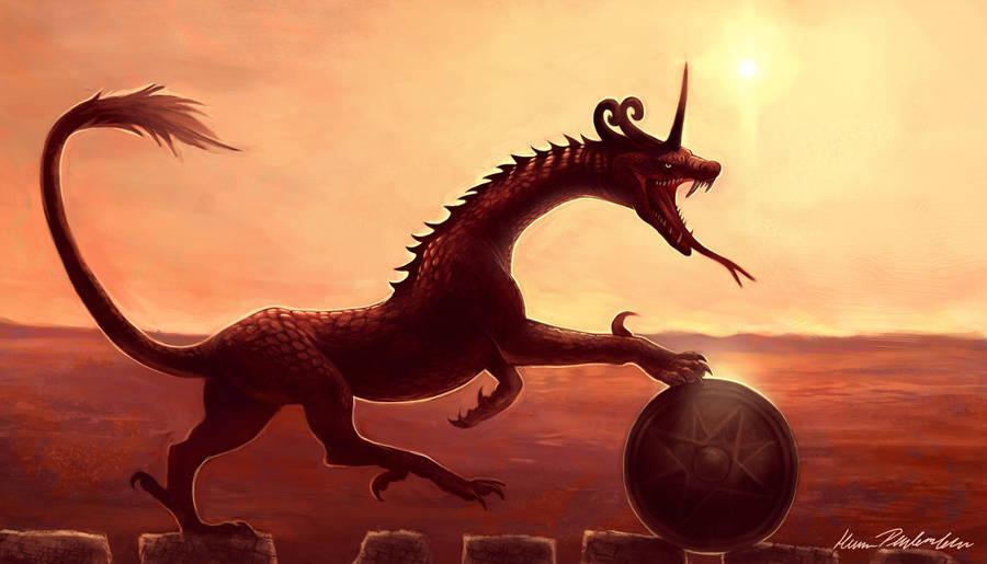 Splendor Serpent by KatePfeilschiefter