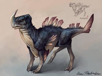 Inkblot Creature #1 by KatePfeilschiefter