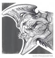 Axe-head by KatePfeilschiefter