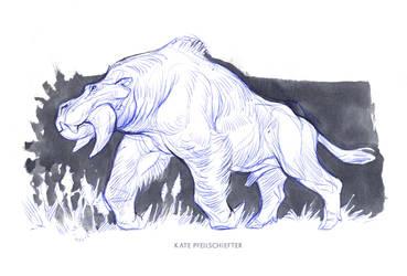 Plains Beast by KatePfeilschiefter