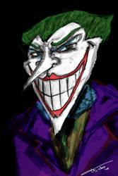 The Joker by PizzaLuigi