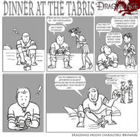 DAO: Dinner at the Tabris by SoniaCarreras
