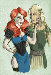 DAO: Rose and Zev by SoniaCarreras
