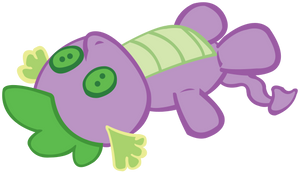 Spike Plushie by purplefairy456