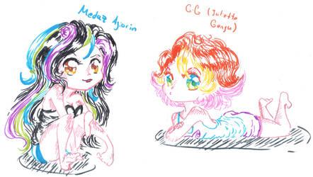 Cutie girls by GamerGirlQueen