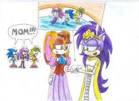 sonic underground happy memories 2 by udiszabi